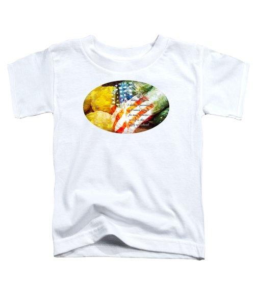 Jefferson's Farm Toddler T-Shirt by Anita Faye