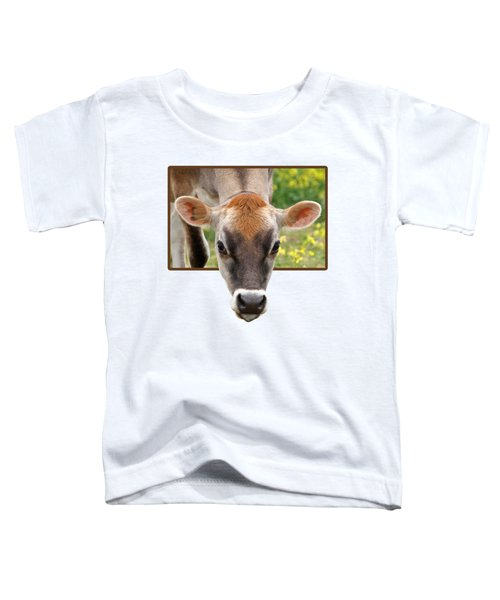 Jersey Fields Of Gold Toddler T-Shirt by Gill Billington