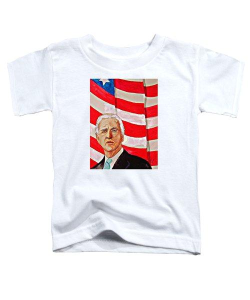 Joe Biden 2010 Toddler T-Shirt by Ken Higgins