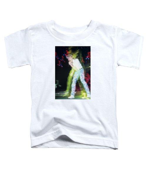 Joe Elliott Of Def Leppard Toddler T-Shirt by Rich Fuscia