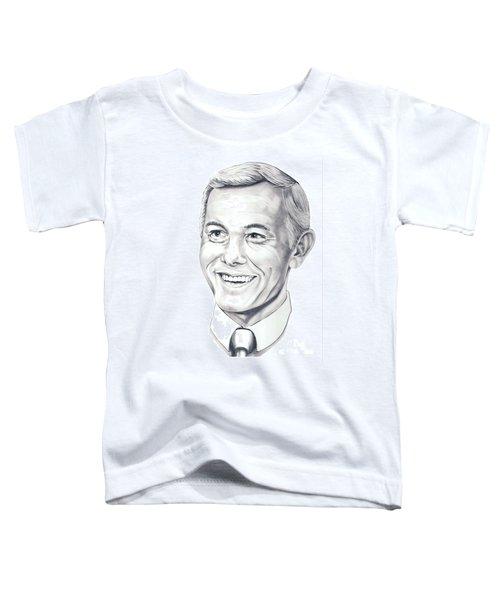 Johnny Carson Toddler T-Shirt by Murphy Elliott