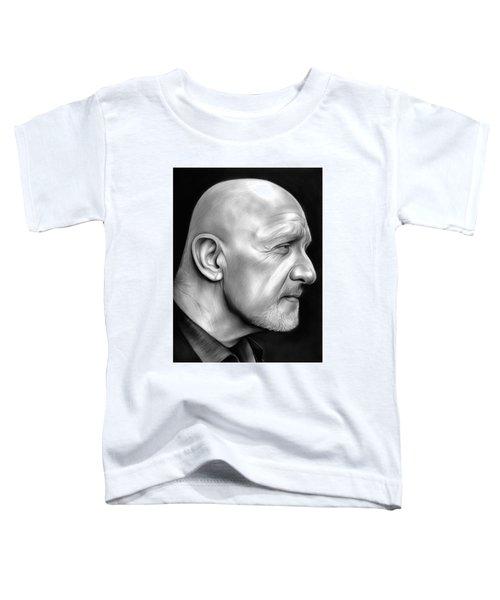 Jonathan Banks Toddler T-Shirt by Greg Joens