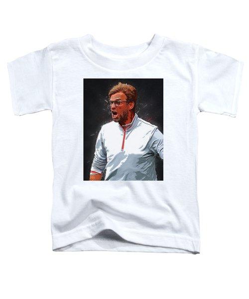 Jurgen Kloop Toddler T-Shirt by Semih Yurdabak