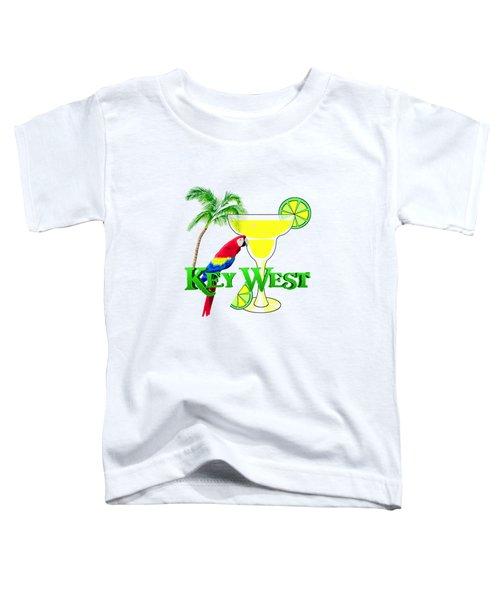 Key West Margarita Toddler T-Shirt by Chris MacDonald