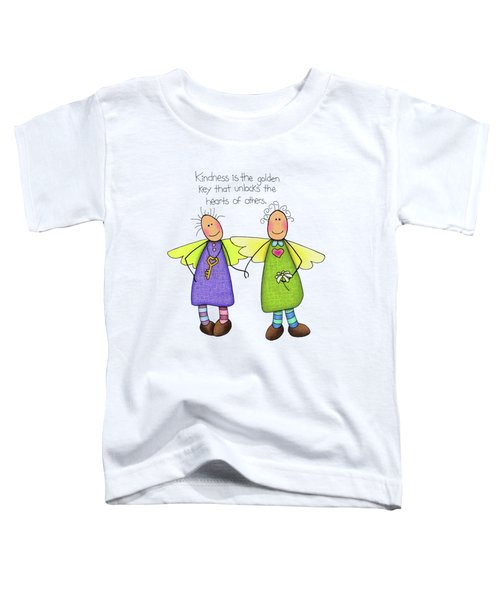 Kindness Toddler T-Shirt by Sarah Batalka