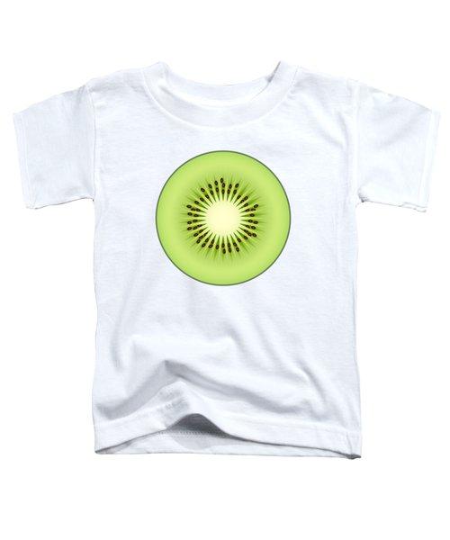 Kiwi Fruit Toddler T-Shirt by Miroslav Nemecek