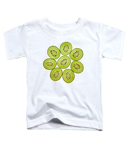 Kiwifruit Toddler T-Shirt by Nailia Schwarz
