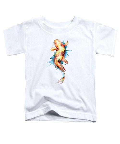 Koi Fish I Toddler T-Shirt by Sam Nagel