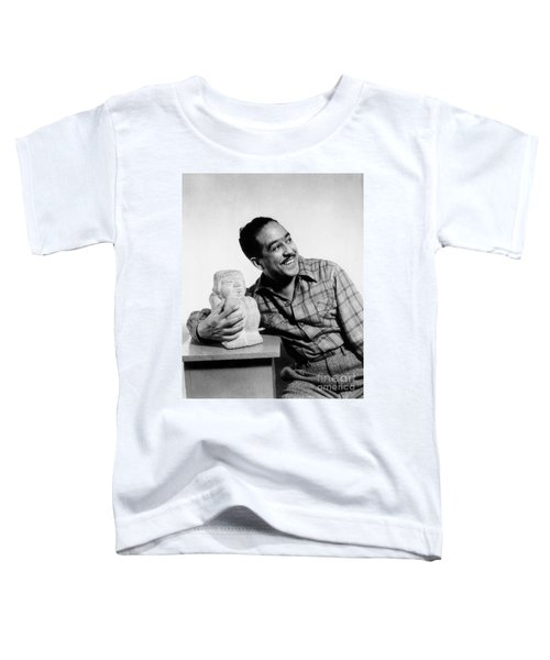 Langston Hughes (1902-1967) Toddler T-Shirt by Granger