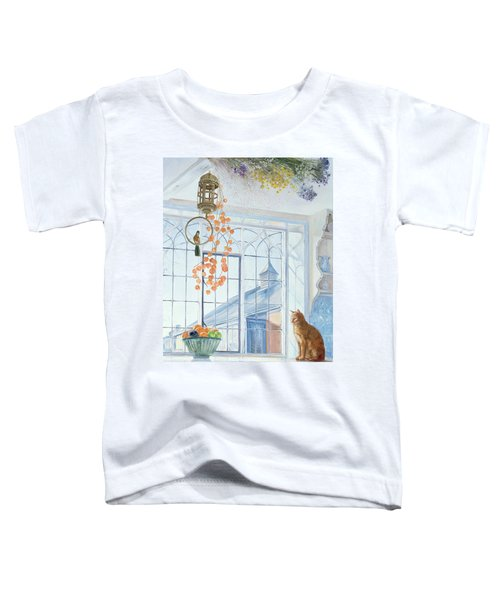Lanterns Toddler T-Shirt by Timothy Easton