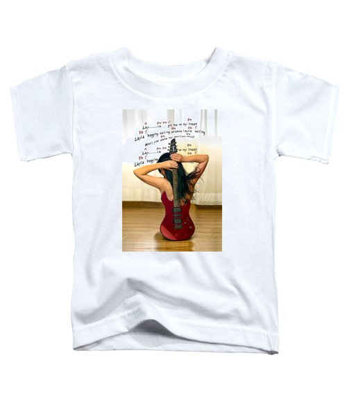 Layla Toddler T-Shirt by Donovan Torres