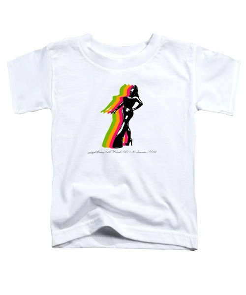 Leigh Bowery 5 Toddler T-Shirt by Mark Ashkenazi