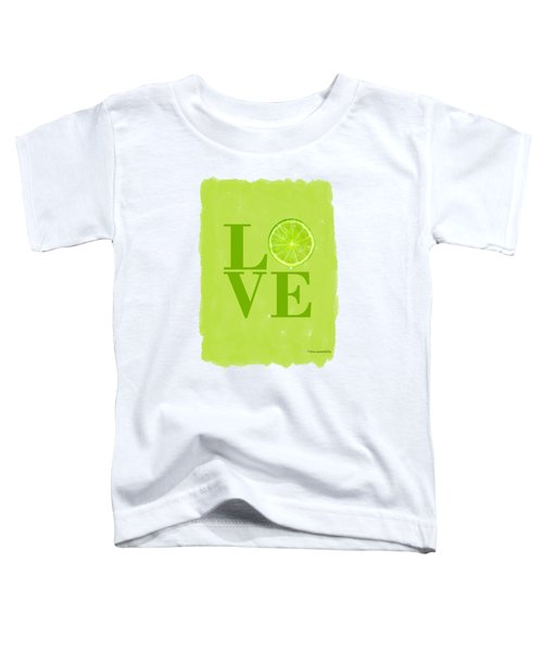 Lime Toddler T-Shirt by Mark Rogan