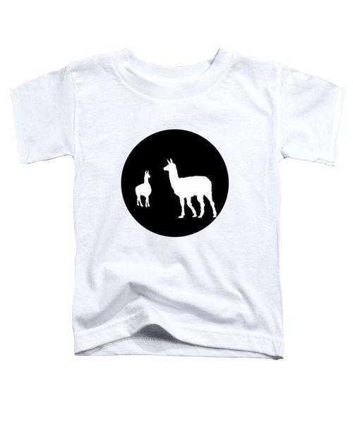 Llamas Toddler T-Shirt by Mordax Furittus