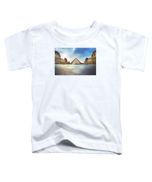 Louvre Museum Toddler T-Shirt by Ivan Vukelic