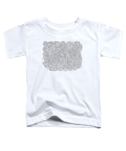Love Moscow Toddler T-Shirt by Tamara Kulish