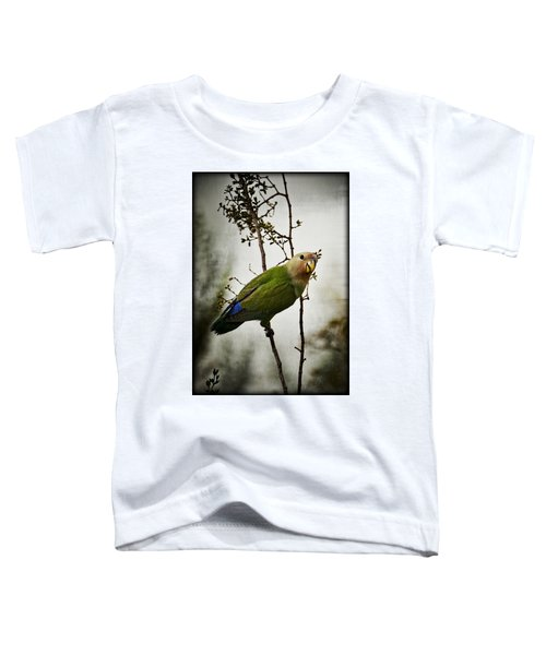 Lovebird  Toddler T-Shirt by Saija  Lehtonen