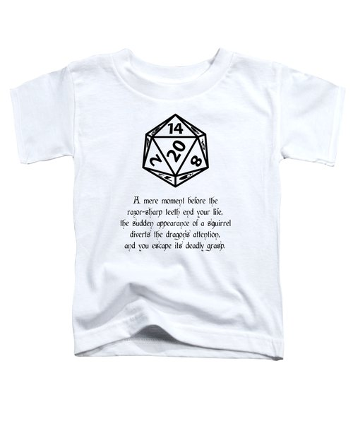 Lucky Escape Toddler T-Shirt by Jon Munson II