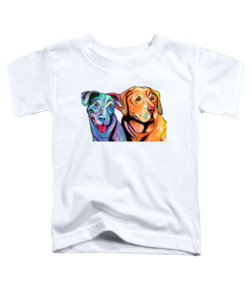 Maggie And Raven Toddler T-Shirt by Abbi Kay