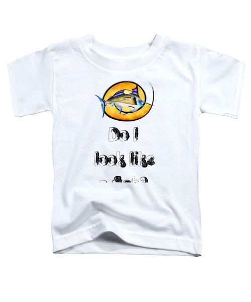 Marlinissos V1 - Violinfish With Text Toddler T-Shirt by Cersatti