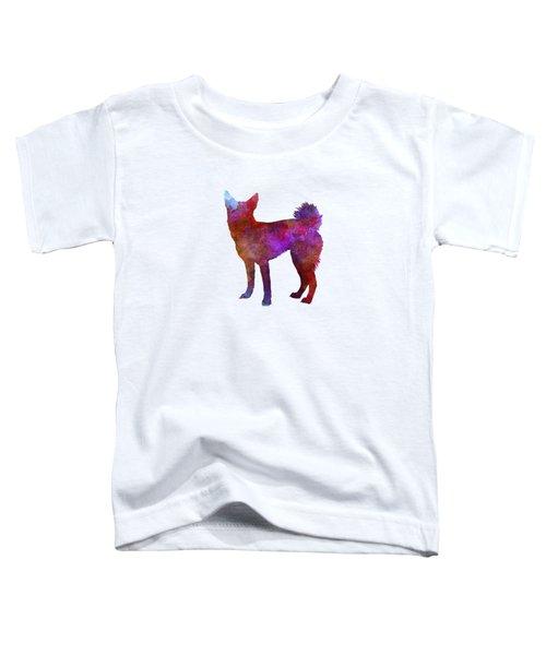 Medium Griffon Vendeen In Watercolor Toddler T-Shirt by Pablo Romero