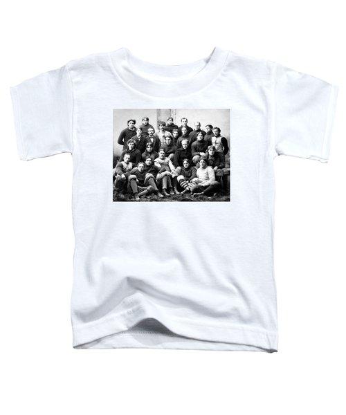 Michigan Wolverines Football Heritage  1895 Toddler T-Shirt by Daniel Hagerman