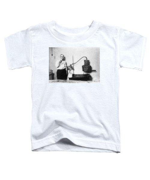 Moonshine Distillery, 1920s Toddler T-Shirt by Granger