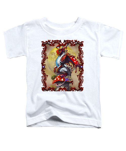 Mushroom Dragon T-shirts Toddler T-Shirt by Stanley Morrison