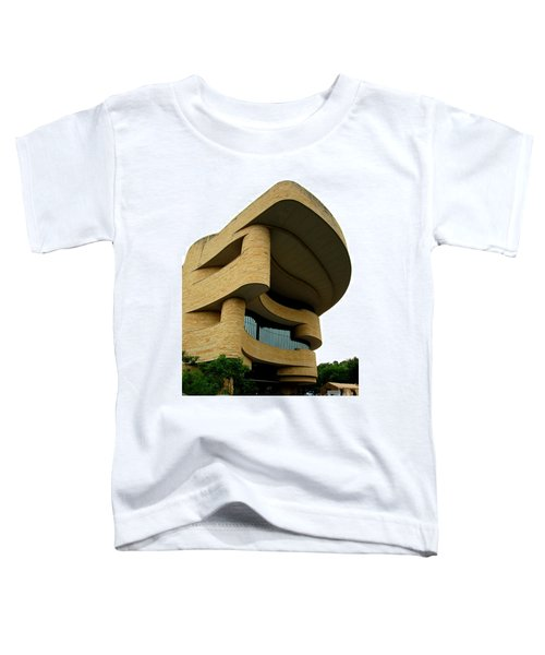 National Museum Of The American Indian 1 Toddler T-Shirt by Randall Weidner