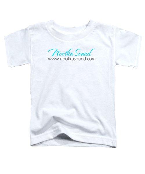 Nootka Sound Logo #11 Toddler T-Shirt by Nootka Sound
