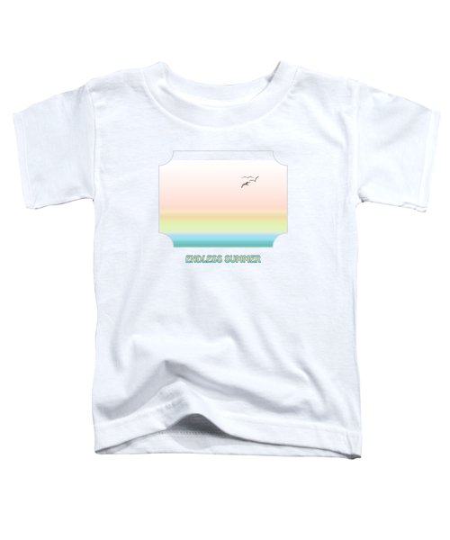 Endless Summer Toddler T-Shirt by Gill Billington