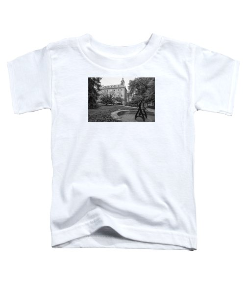 Old Main Penn State University  Toddler T-Shirt by John McGraw