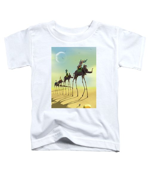 On The Move 2 Toddler T-Shirt by Mike McGlothlen
