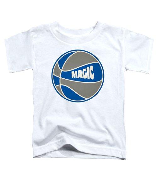 Orlando Magic Retro Shirt Toddler T-Shirt by Joe Hamilton