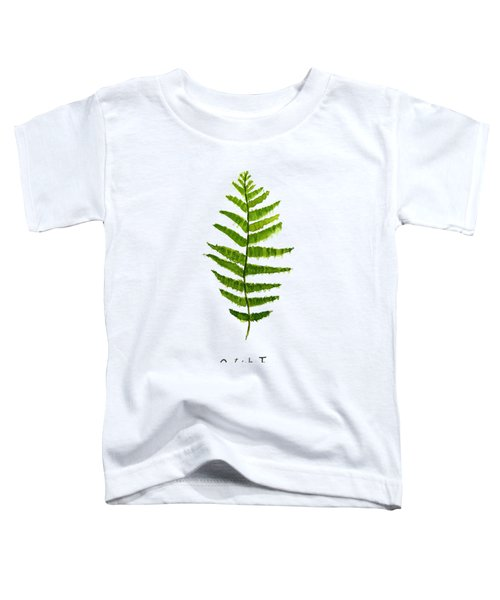 Ostrich Fern Toddler T-Shirt by Color Color