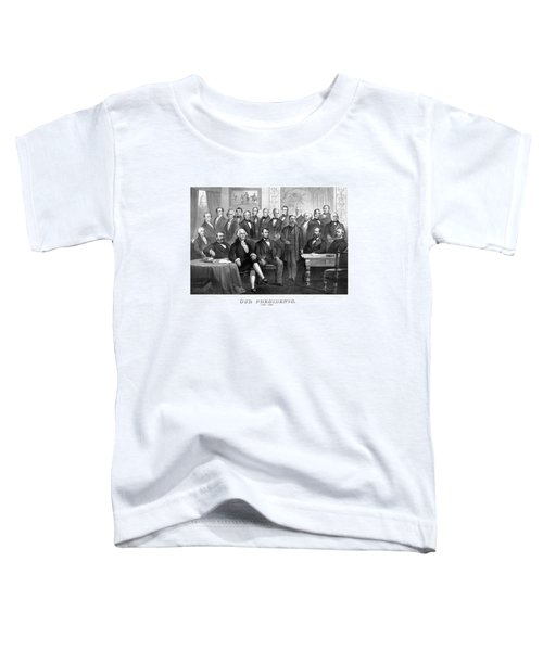 Our Presidents 1789-1881 Toddler T-Shirt by War Is Hell Store