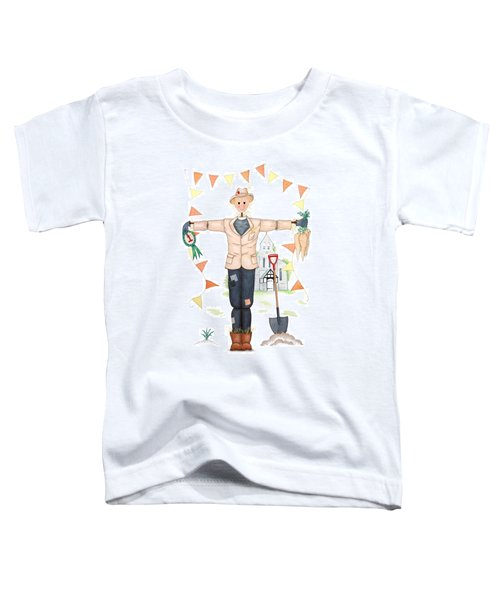 Parson Scarecrow Toddler T-Shirt by Sandra Moore