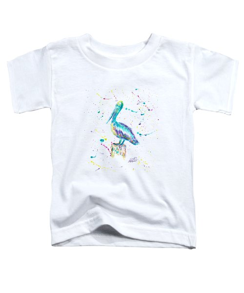 Pelican By Jan Marvin Toddler T-Shirt by Jan Marvin