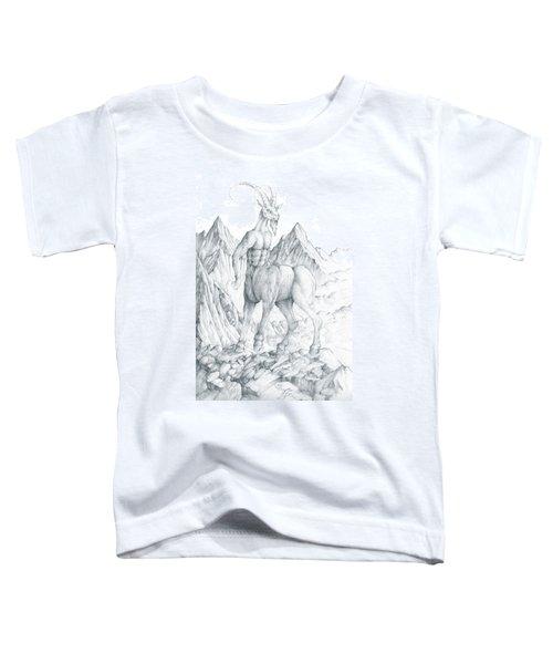 Pholus The Centauras Toddler T-Shirt by Curtiss Shaffer