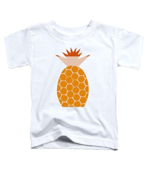 Pineapple Toddler T-Shirt by Frank Tschakert