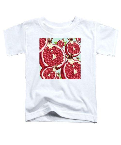 Pomegranate   Toddler T-Shirt by Mark Ashkenazi