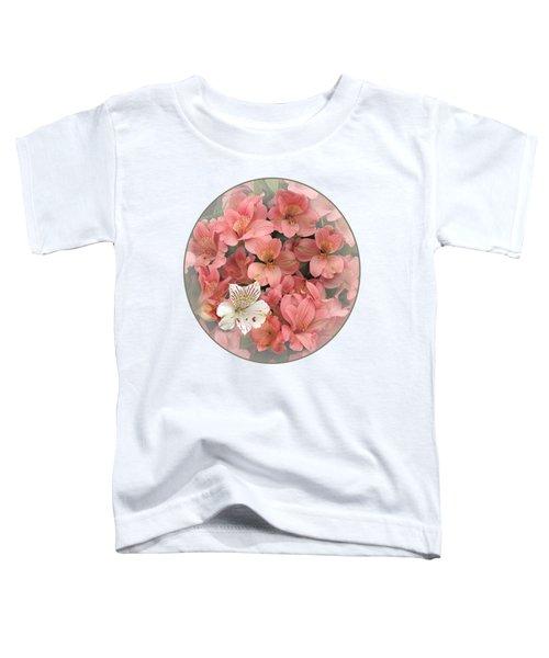 Prima Donna - Alstroemeria Toddler T-Shirt by Gill Billington