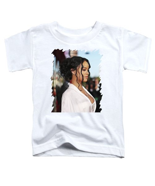 Rihanna Toddler T-Shirt by Twinkle Mehta