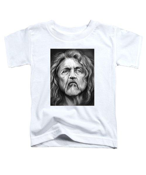 Robert Plant Toddler T-Shirt by Greg Joens