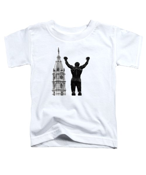 Rocky - Philly's Champ Toddler T-Shirt by Bill Cannon