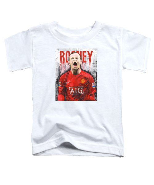 Rooney Toddler T-Shirt by Jeff Gomez