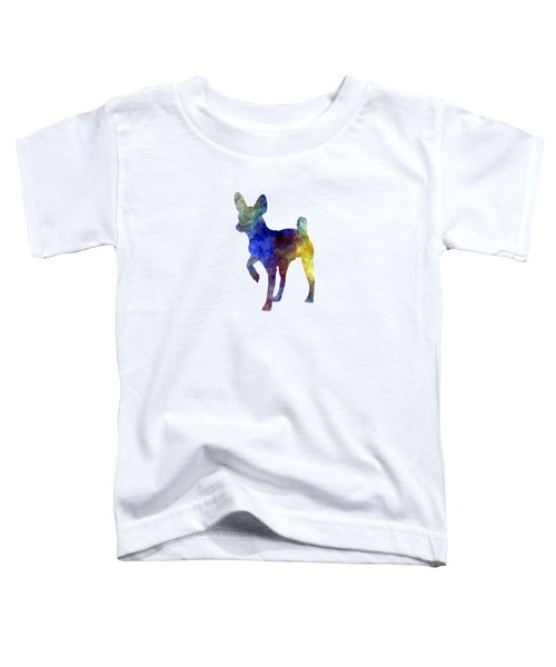 Russian Toy 01 In Watercolor Toddler T-Shirt by Pablo Romero