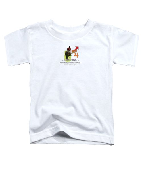 Sagittarius Sun Sign Toddler T-Shirt by Shelley Overton