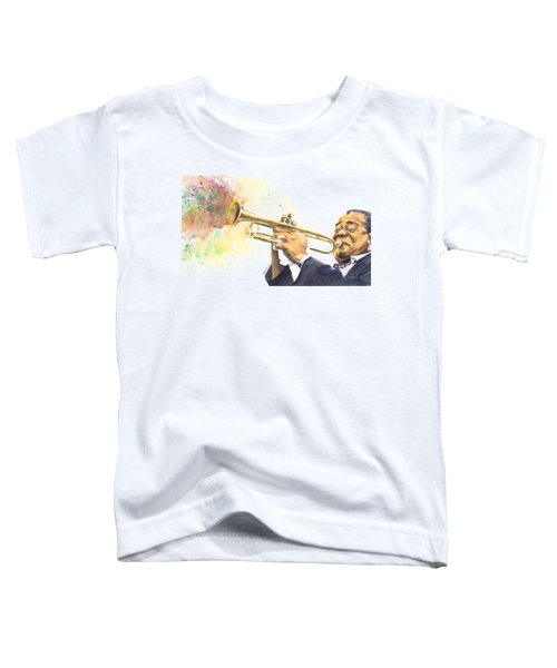 Satchmo Toddler T-Shirt by Adrienne Norris