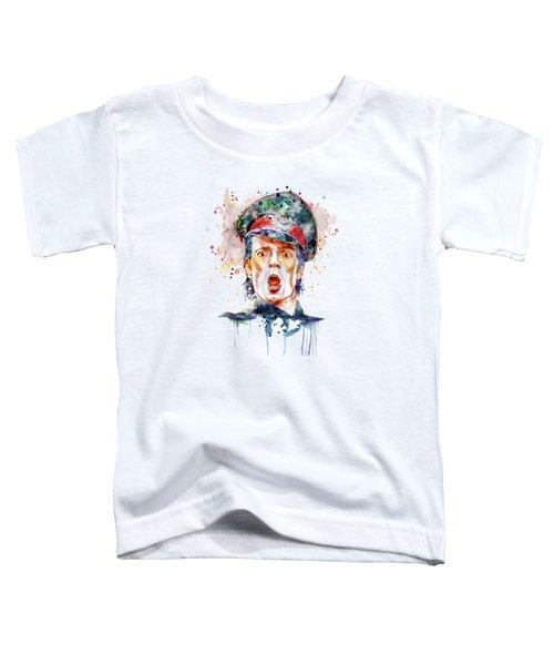 Scott Weiland Toddler T-Shirt by Marian Voicu